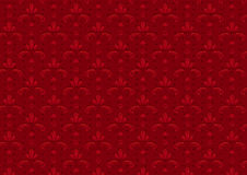 Red Vintage Seamless Pattern stock photo
