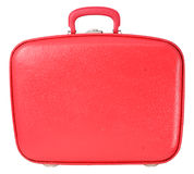 Red vintage suitcase Royalty Free Stock Images