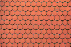 Red vintage tiles Stock Photo