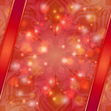 Red vintage vector abstract background Royalty Free Stock Photo