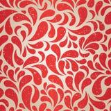 Red vintage wallpaper. Red vintage seamless wallpaper. EPS8 vector illustration vector illustration
