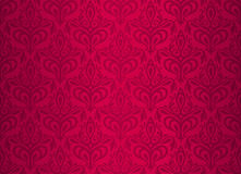Red  vintage wallpaper Stock Images