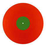 Red vinyl Royalty Free Stock Photo