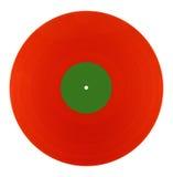 Red vinyl Royalty Free Stock Photo