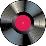 Red vinyl LP Royalty Free Stock Photos