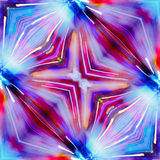 Red violet and blue color stock image