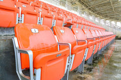 Red vip seat Stock Photos