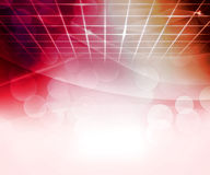 Red Virtual Abstract Background. Image Royalty Free Stock Photography