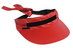 Red visor Stock Photography