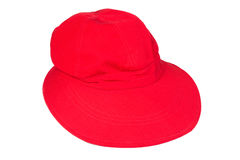 Red visor Stock Photo