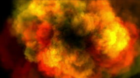 Red volcanic ash stock footage