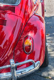 Red Volkswagen Beetle Royalty Free Stock Image