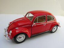 Red Volkswagen Beetle Royalty Free Stock Images