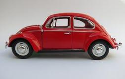 Red Volkswagen Beetle Stock Photography
