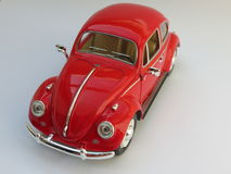 Red Volkswagen Beetle Royalty Free Stock Image