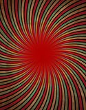 Red vortex. A vortex of psychedelic colors Stock Image