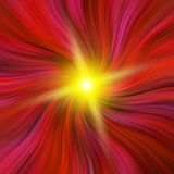 Red Vortex with a Starburst Royalty Free Stock Photo