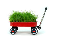 Free Red Wagon Royalty Free Stock Image - 2783176