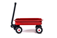 Red Wagon Stock Photos