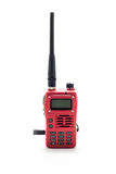 Red Walkie talkie Royalty Free Stock Photography