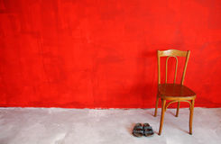 Red wall Royalty Free Stock Photo