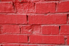 Red wall. Background with bright red wall stock photos