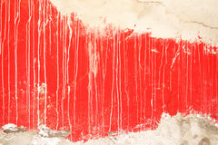 Red wall abstract Royalty Free Stock Photos