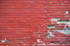Red Wall Royalty Free Stock Images