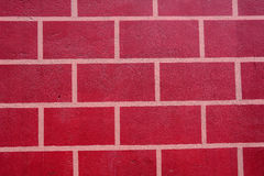 Red wall at Chinese temple Stock Images