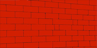 Red wall Stock Image