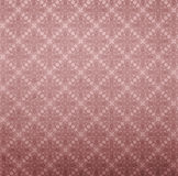 Red wall paper. With elegant floral pattern Royalty Free Stock Photo