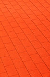 Red wall red roof Royalty Free Stock Photos