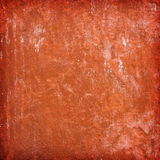 Red wall texture. Red, aged wall texture, background stock photography
