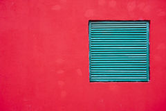 Red Wall Texture Background Stock Photography