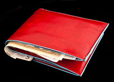 Red wallet Royalty Free Stock Photo