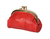 Red wallet. Stock Images