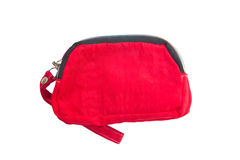 Red Wallet. Royalty Free Stock Photography