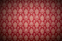 Red wallpaper Stock Image