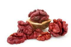 Red Walnut Royalty Free Stock Photography