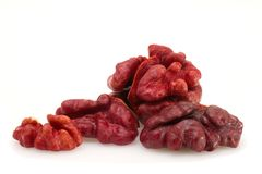 Red Walnut Stock Photos