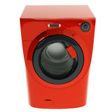 Red Washing Machine Royalty Free Stock Images