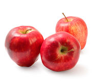 Red Washington apple isolated clipping path. Royalty Free Stock Photo