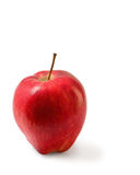Red Washington apple isolated clipping path. Royalty Free Stock Image