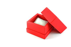 Red watch gift box Stock Photo