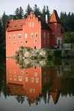 The red water chateau, Cervena Lhota Stock Photo