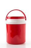 red water cooler Stock Photo