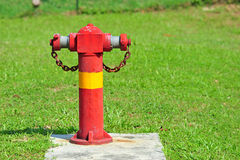 Red Water Hydrant. For Fire Fighting Stock Images