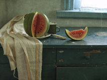 Red water-melon Stock Photography