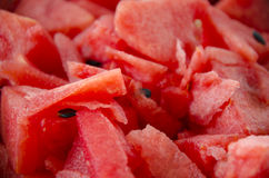 Red water melon slice Royalty Free Stock Photography