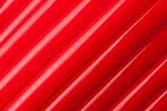 Red water pipes Royalty Free Stock Images